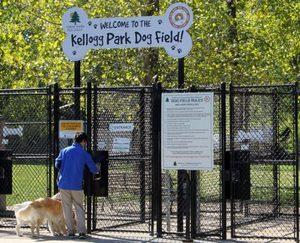 Kellogg Park Dog Field
