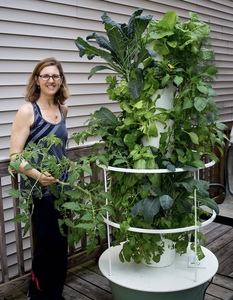 Tower Garden with Meghan