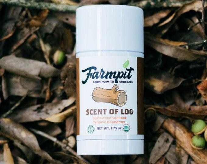Scent of Log - Organic Deodorant by Farmpit