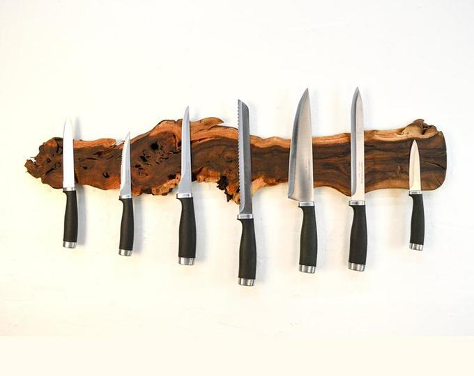 Grapevine Magnetic Knife Rack